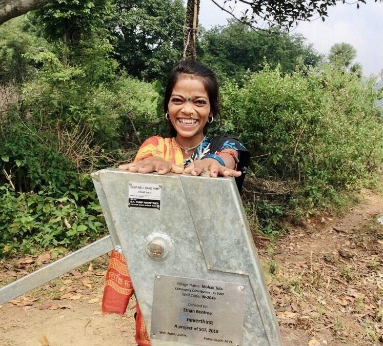 NEW WATER SOURCE BROUGHT DIGNITY OF LIFE